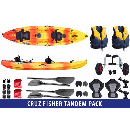 Cruz pack Tandem Fisher