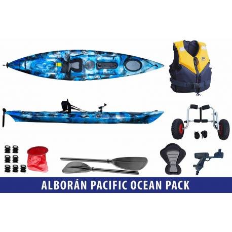 Galaxy Kayaks Alborán Pacific Ocean Kayak Pack