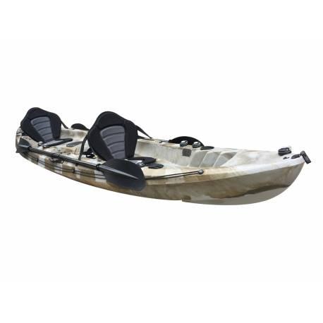 Galaxy Kayaks Cruz Fisher Tandem Fiskekajak Kajak