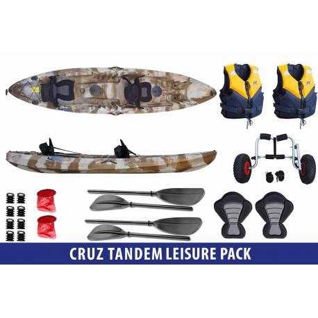Cruz Tandem Leisure Pack - Galaxy Kayaks